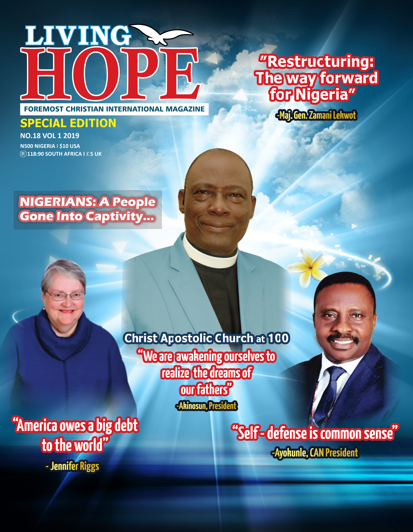 Living Hope Cover Page